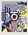ROY  LICHTENSTEIN - INDUSTRY AND THE ARTS II