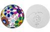 TAKASHI MURAKAMI - FLOWER BALL CHARGER PLATE