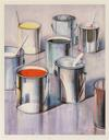 WAYNE THIEBAUD - PAINT CANS