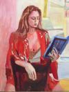 JAIME  IZQUIERDO - MUSE READING POETRY