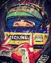 DANIELA MONTESANO - Ayrton Senna eyes