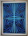 JAQUELINE MOEYKENS CRUZ - Painting, Geometric abstract, Original art work, hand painted, acrylic on canvas