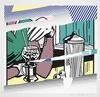 ROY  LICHTENSTEIN - REFLECTIONS ON SODA FOUNTAIN