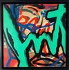 JOHN MATOS CRASH - Interview Mag / Spray Paint on Canvas