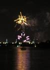 ALAN FEUER - Fireworks & Sailboat --- #1