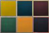 LEWITT,SOL - A SQUARE WITH COLORS SUPERIMPOSED WITHIN A BORDER (SET OF 6)