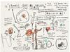 JEAN-MICHEL BASQUIAT - DOG LEG STUDY