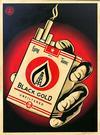 SHEPARD FAIREY - BLACK GOLD