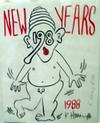 HARING, KEITH - NEW YEAR 1988